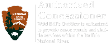 Approved Canoe Concessioner of National Park Service